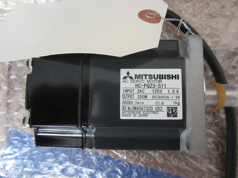 MITSUBISHI AC SERVO MOTOR HC-PQ23-S11 NEW ORIGINAL FREE EXPEDITED SHIPPING
