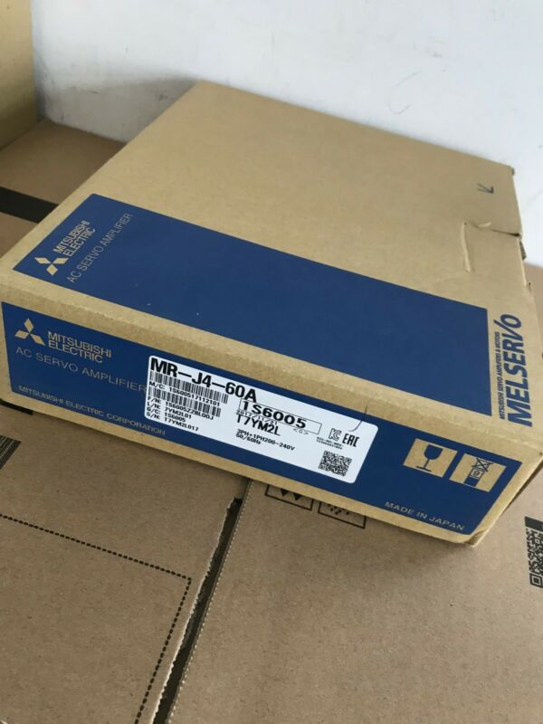 MITSUBISHI AC SERVO DRIVER MR-J4-60A MRJ460A NEW FREE EXPEDITED SHIPPING