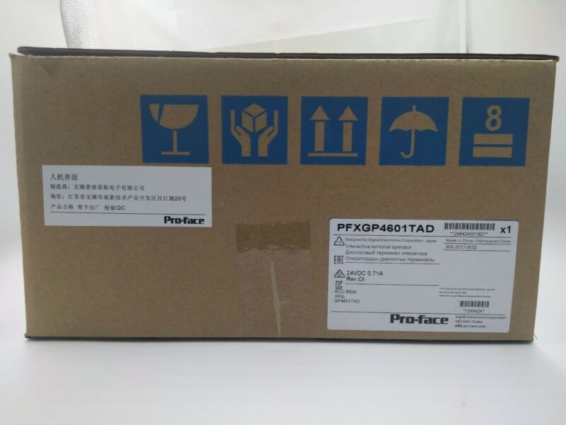 NEW ORIGINAL PROFACE TOUCH SCREEN PFXGP4601TAD GP4601TAD FREE EXPEDITED SHIPPING
