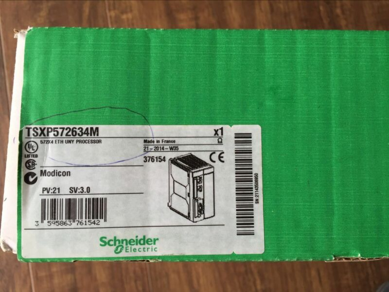 NEW ORIGINAL SCHNEIDER PROCESSOR MODULE TSXP572634M FREE EXPEDITED SHIPPING