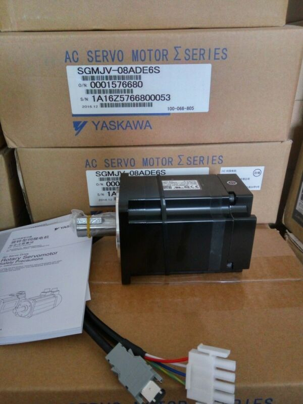 1PC NEW ORIGINAL YASKAWA AC SERVO MOTOR SGMJV-08ADE6S FREE EXPEDITED SHIPPING