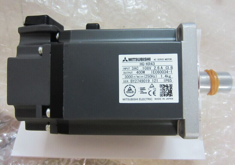 1PC MITSUBISHI SERVO MOTOR HG-KR43 HGKR43 NEW ORIGINAL FREE EXPEDITED SHIPPING