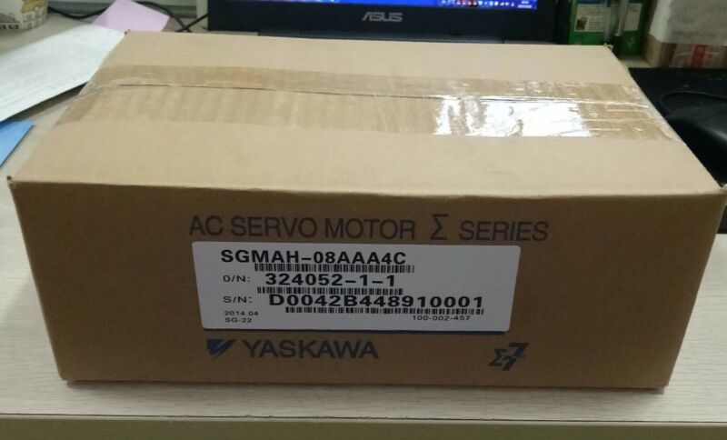 1PC YASKAWA AC SERVO MOTOR SGMAH-08AAA4C NEW ORIGINAL FREE EXPEDITED SHIPPING