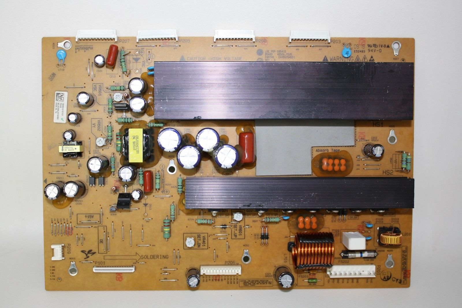 LG PDP 090415 42PQ30-UA TV Y-Main Board EBR61018101 EAX60764001
