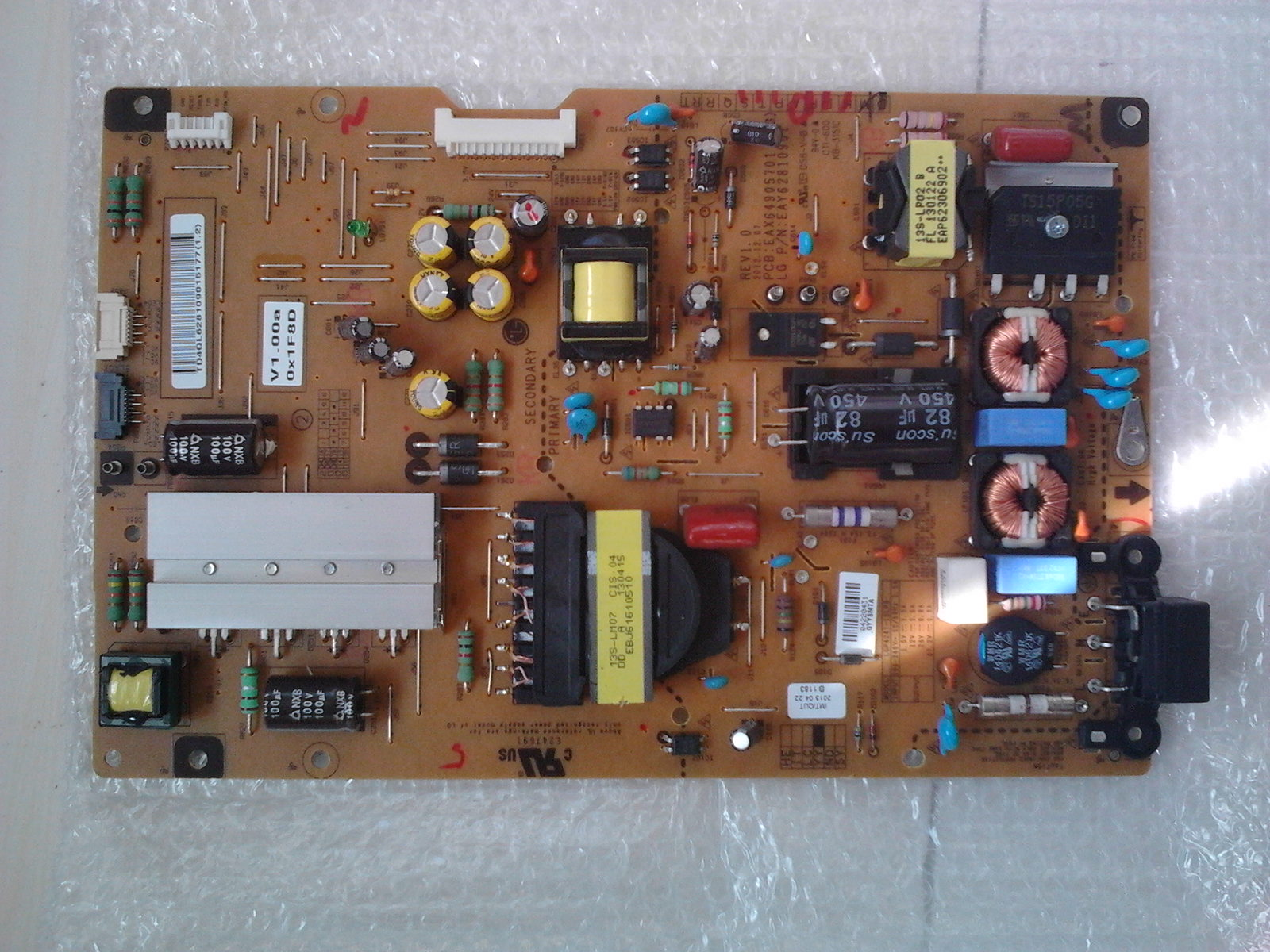 Power board for LED LG 47LA667S LG 47LA667S-ZB EAX64905701