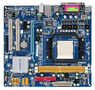 AM3 Gigabyte GA-M61pME-S2 (rev. 2.0) motherboard new C61