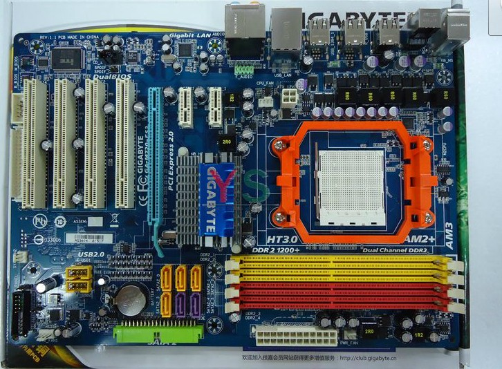 Gigabyte GA-M720-ES3 AM3 motherboard 720D (rev. 1.0)
