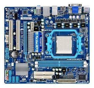 GIGABYTE GA-MA78LM-S2 AM3/AM2+/AM2 AMD 760G Micro ATX AMD Mother