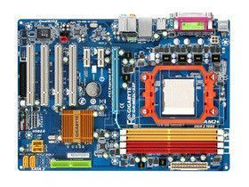 Gigabyte GA-M52L-S3P nForce 520LE Socket AM2+ 8 Channel Audio AT