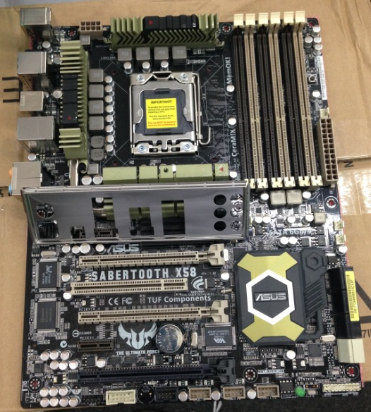 ASUS SABERTOOTH X58 Motherboard support overclocking L5520