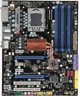 MSI X58 PLATINUM SLI Intel i7 Socket 1366 Motherboard