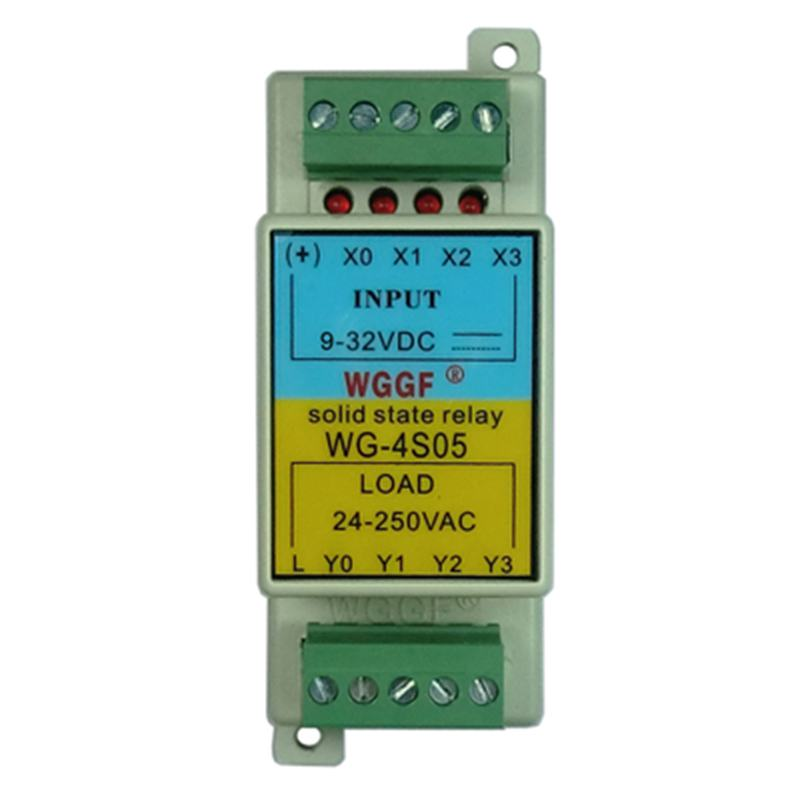 Solid state relay 2/4 channel input 2/4 channel output PNP NPN input 3-32V
