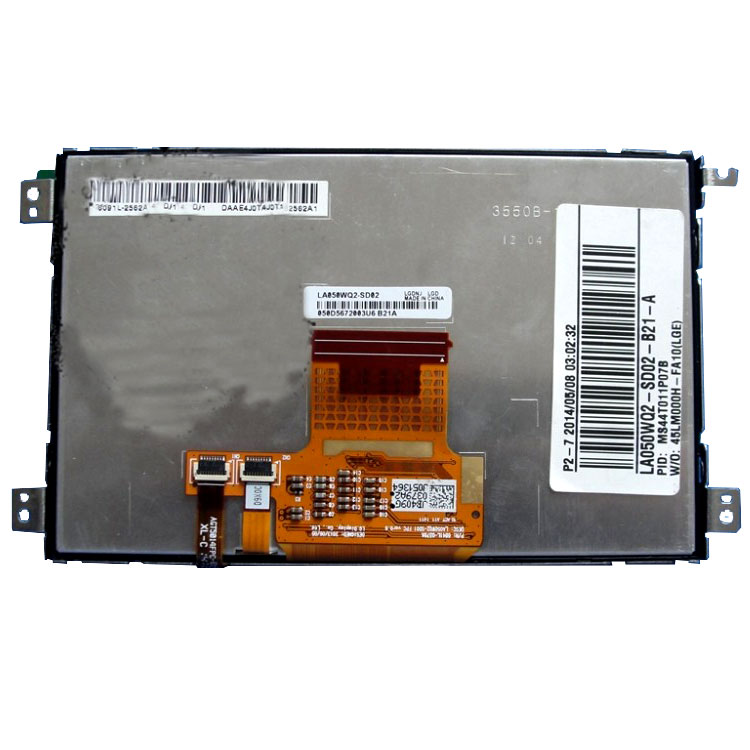 LA050WQ2-SD02 LA050WQ2 SD02 LA050WQ2-SD01 5 inch LCD Display & touch screen digitizer for Car Navigation
