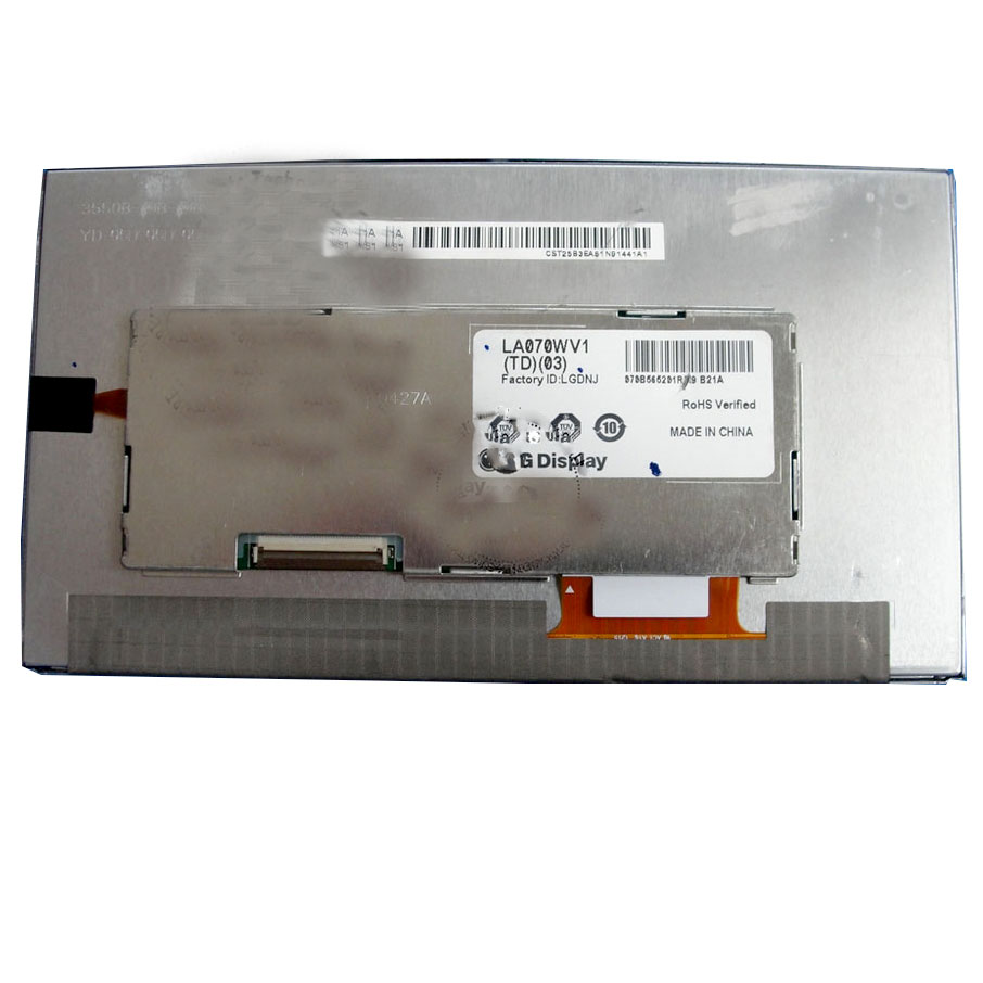 LA070WV1 LA070WV1(TD)(03) LA070WV1(TD)(02) LA070WV1-TD03 7 inch LCD Display Panel for Car GPS by LG