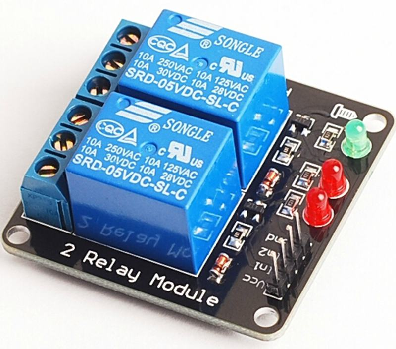 2 channels relay module 5V Road Relay Driver Module,MCU control board