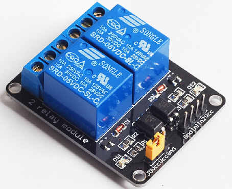 2 channels relay with optocoupler protection module relay expansion board