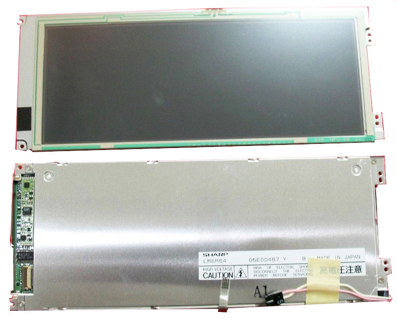 LM8M64 Sharp 8.1'' Industrial Display Screen