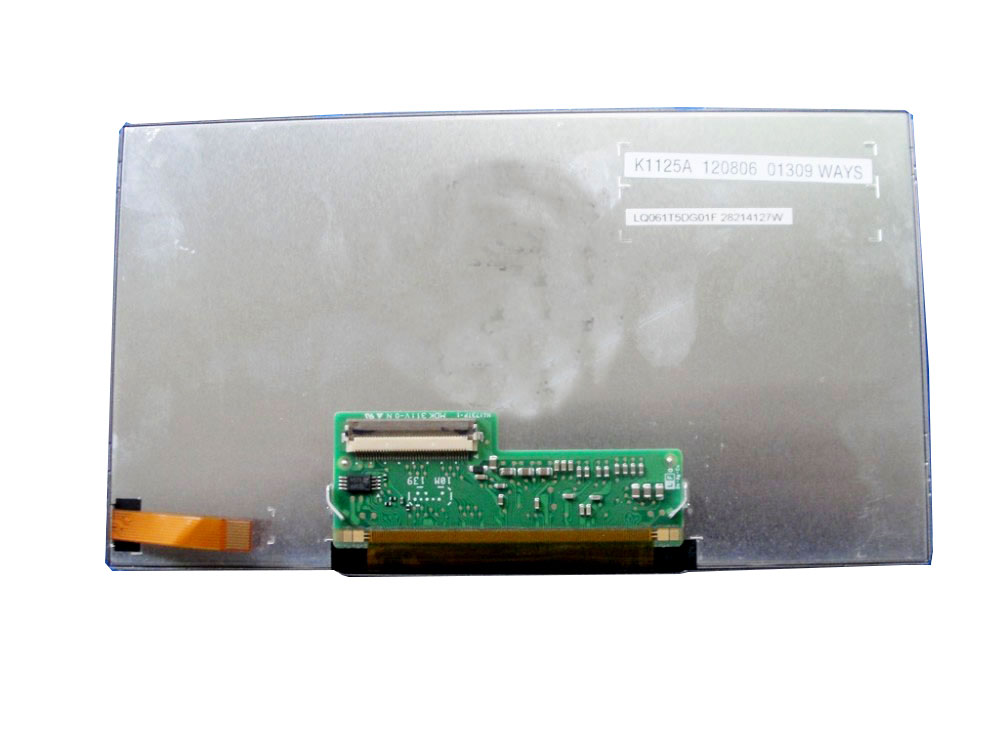 LQ061T5DG01F LQ061T5DG01E LQ061T5DG01 Original A+ grade 6.1 inch LCD Display Panel for Car GPS Navigation Audio by Toshiba