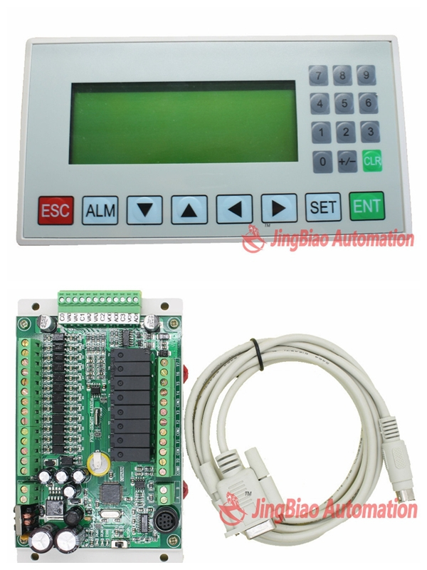 MD204L OP320-A HMI with RS232/RS485 + 20MR/20MT-4AD2DA 12 input/8 output