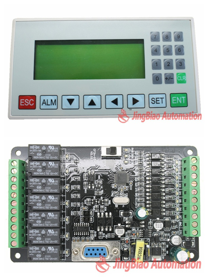 MD204L OP320-A panel display screen + 15MR 8 input/7 relay output
