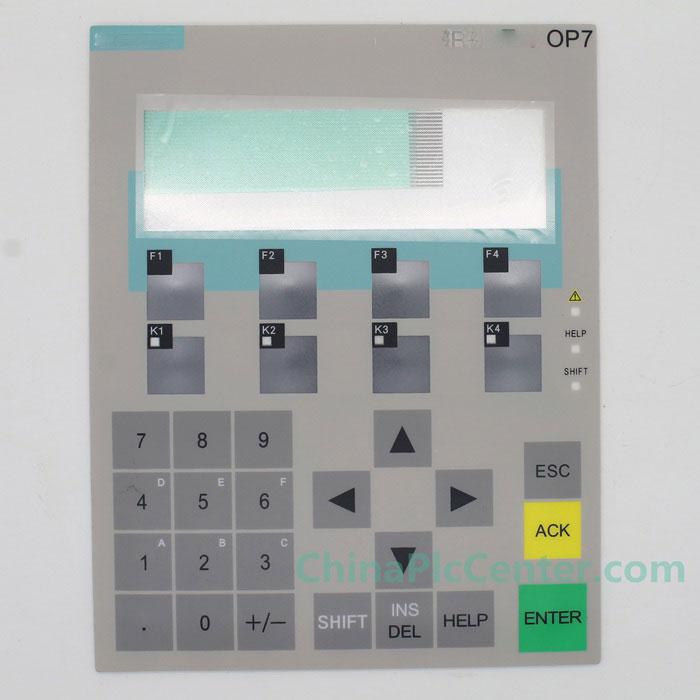 Membrane Keypad OP7 New Touch Screen panel Membrane Keypad