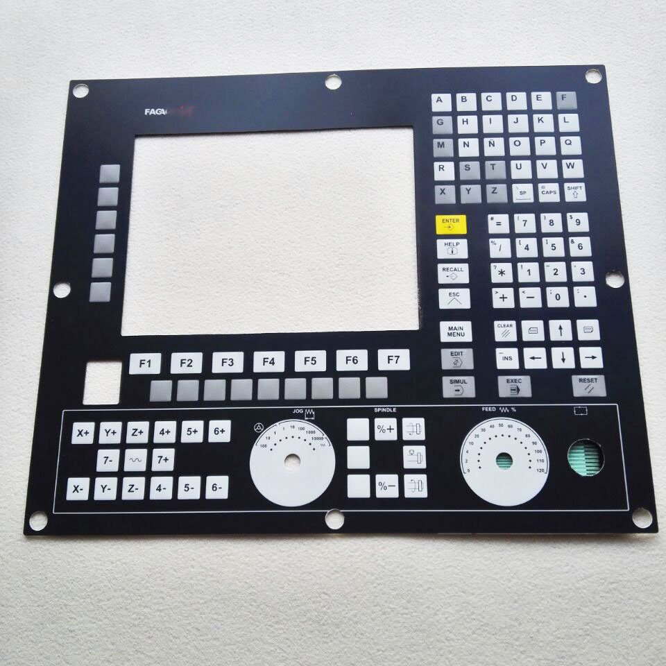 MONITOR-55M-11-USB CNC HMI Panel for Fagor Membrane Keypad buttons