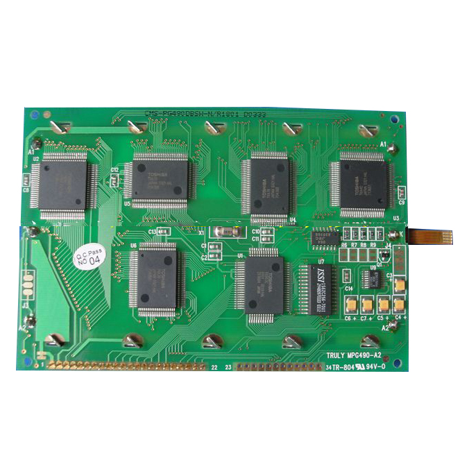 MPG490-A2 MPG490-A1 LCD Display Module with touch panel for Industrial Equipment