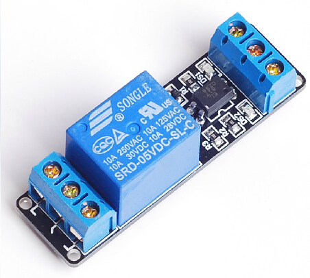 1 channel relay module, 5V optocoupler isolation module,low voltage control high voltage