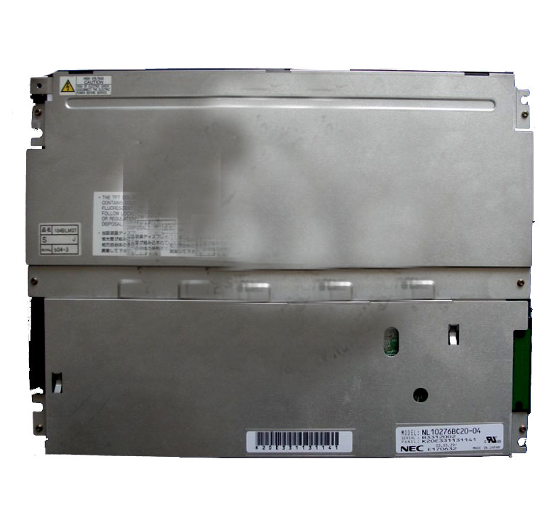 NL10276BC20-04 NL10276BC20-04C 10.4 inch TFT LCD Display 1024*768 for Industrial Equipment by NEC