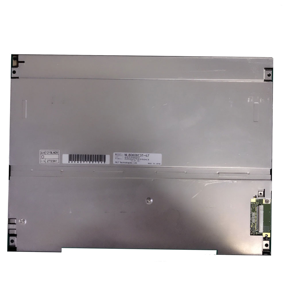 "NL8060BC31-47D 12.1"" LCD Display for Industrial Equipment"