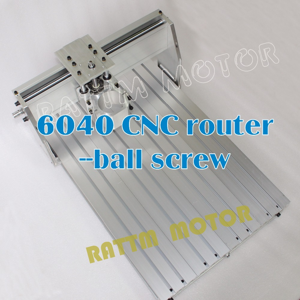 6040 CNC router Frame milling machine mechanical kit ball screw