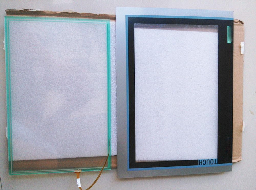 6AV2124-0MC01-0AX0 Touch glass +protective film for TP1200