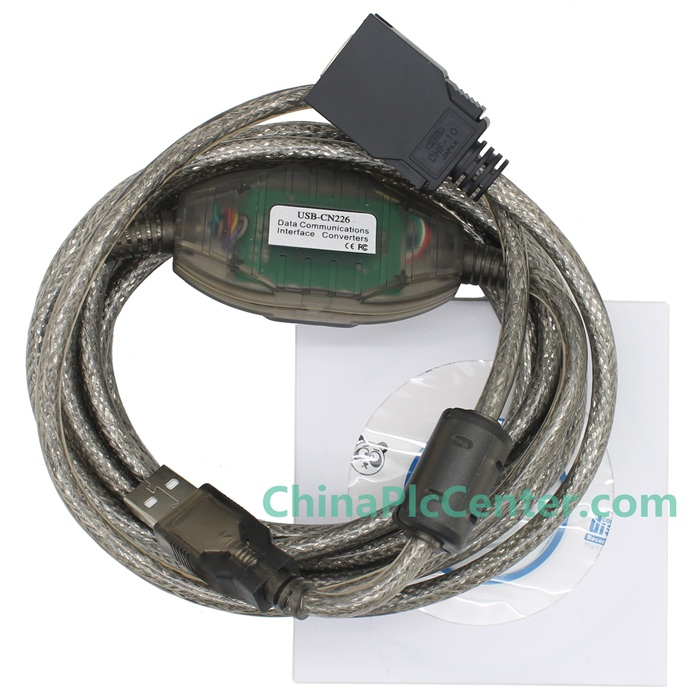 USB-CN226 cable is a suitable replacement of USB programming cable for Omron CS/CJ CQM1H CPM2C PLC