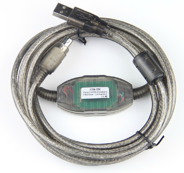 USB FP0 USB-AFP8513 Programming Cable Imported FT232RL chip for FP0/FP2/FP-M PLC,Support WIN7