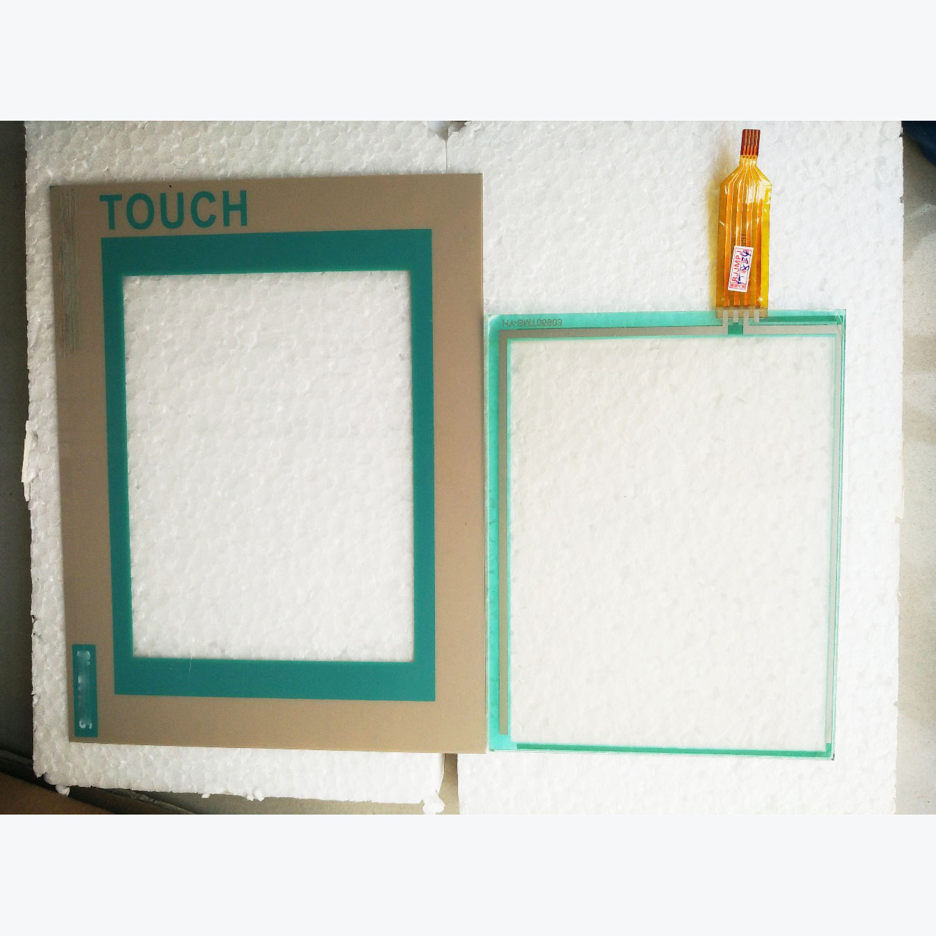 6AV6545-0BA15-2AX0,6AV6 545-0BA15-2AX0 Touch glass panel+protective film for Siemens TP170A