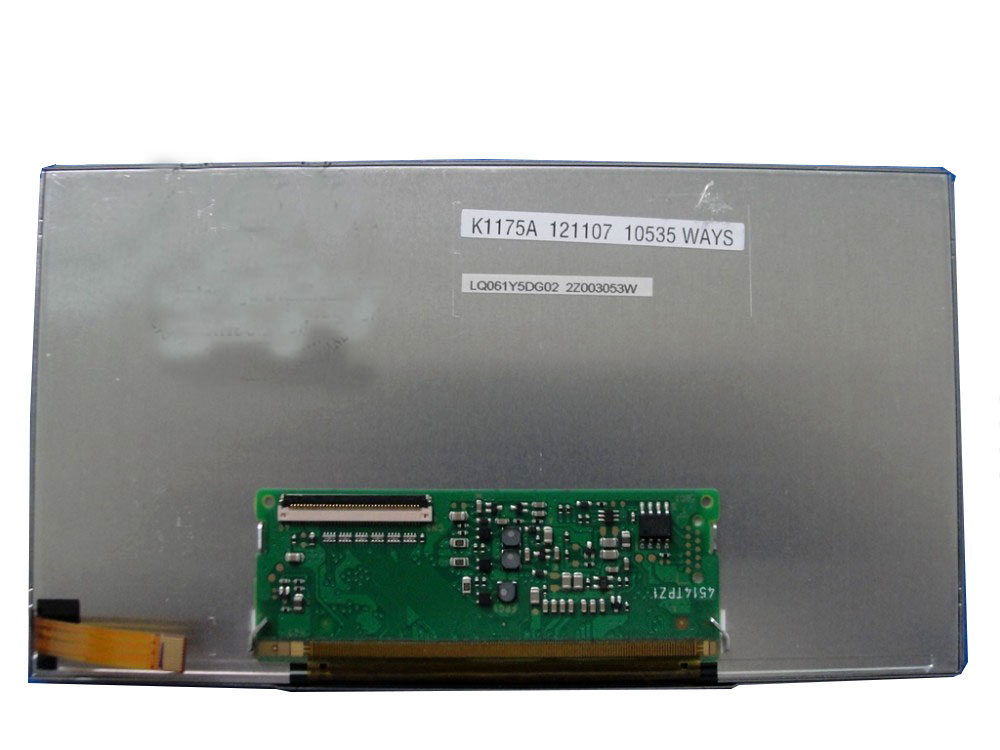 "used,(90% new)LQ061Y5DG02 LQ061Y5DG01 6.1"" inch TFT LCD Screen Display Panel for Car GPS Navigation System for SHARP"