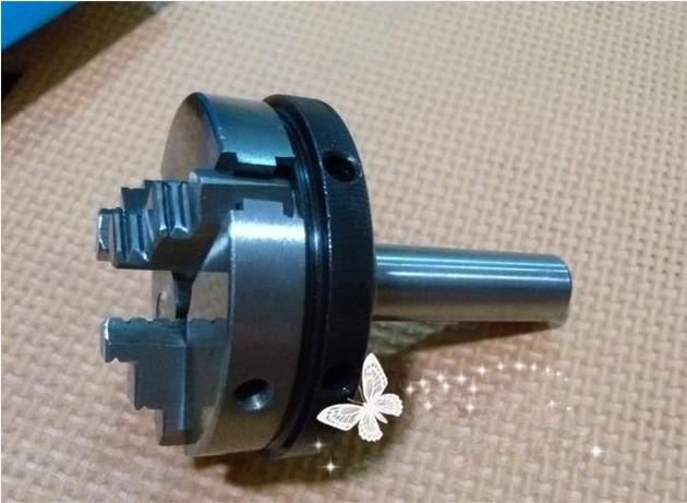 Woodworking Lathe jaw self-centering chuck chuck bearing Add link axis