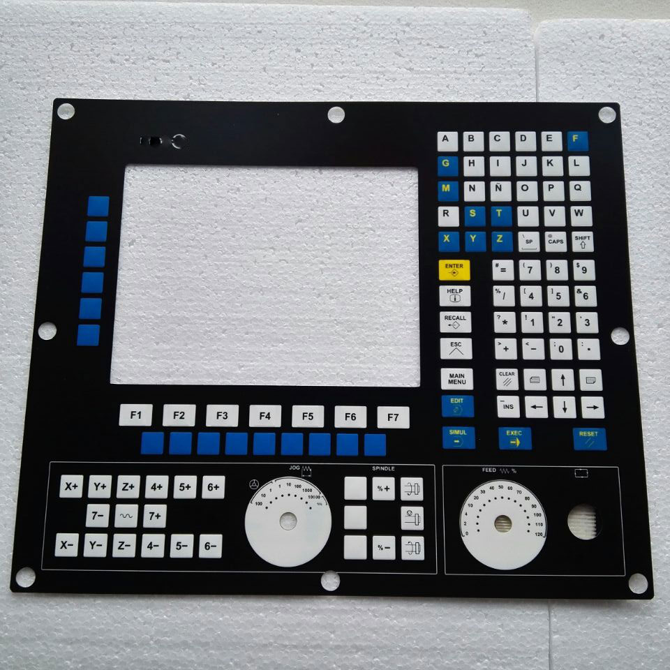 8055i CNC HMI Panel for Fagor Membrane Keypad buttons