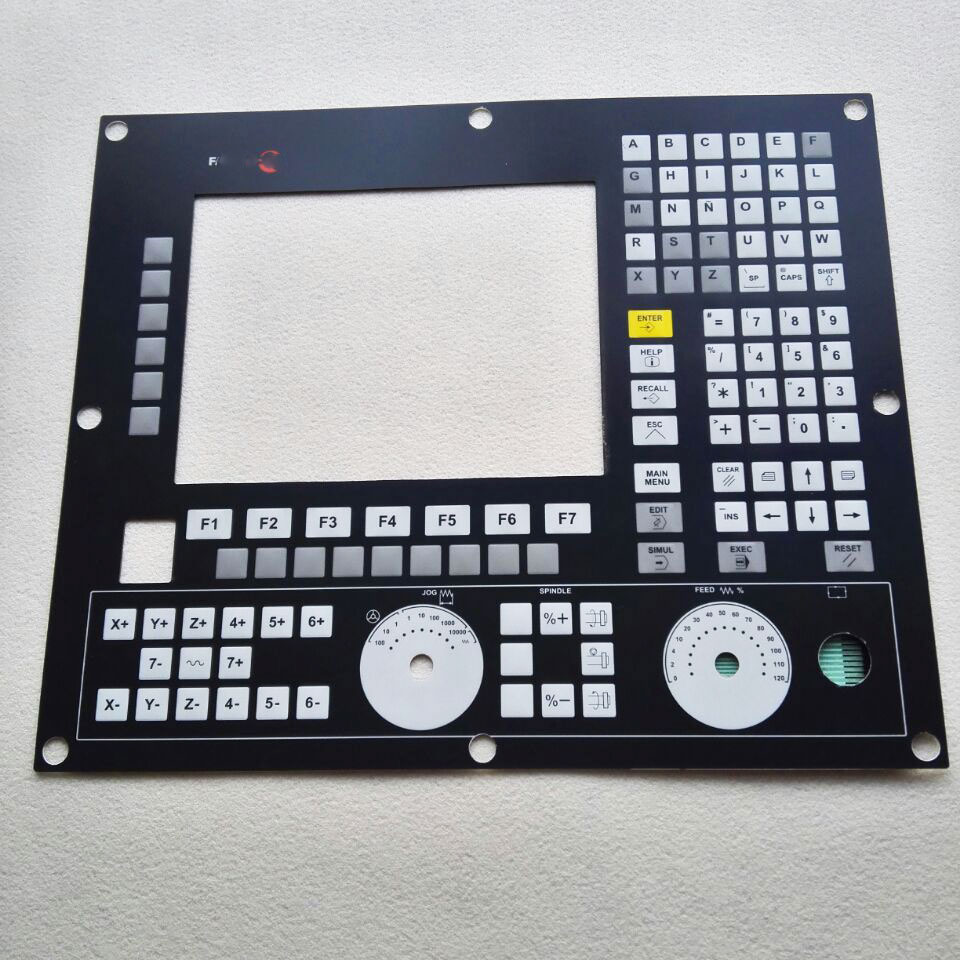 8055IM CNC HMI Panel for Fagor Membrane Keypad buttons