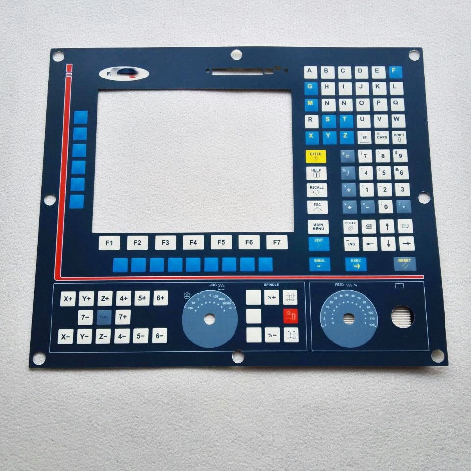 8055M 8055 CNC HMI Panel for Fagor Membrane Keypad buttons