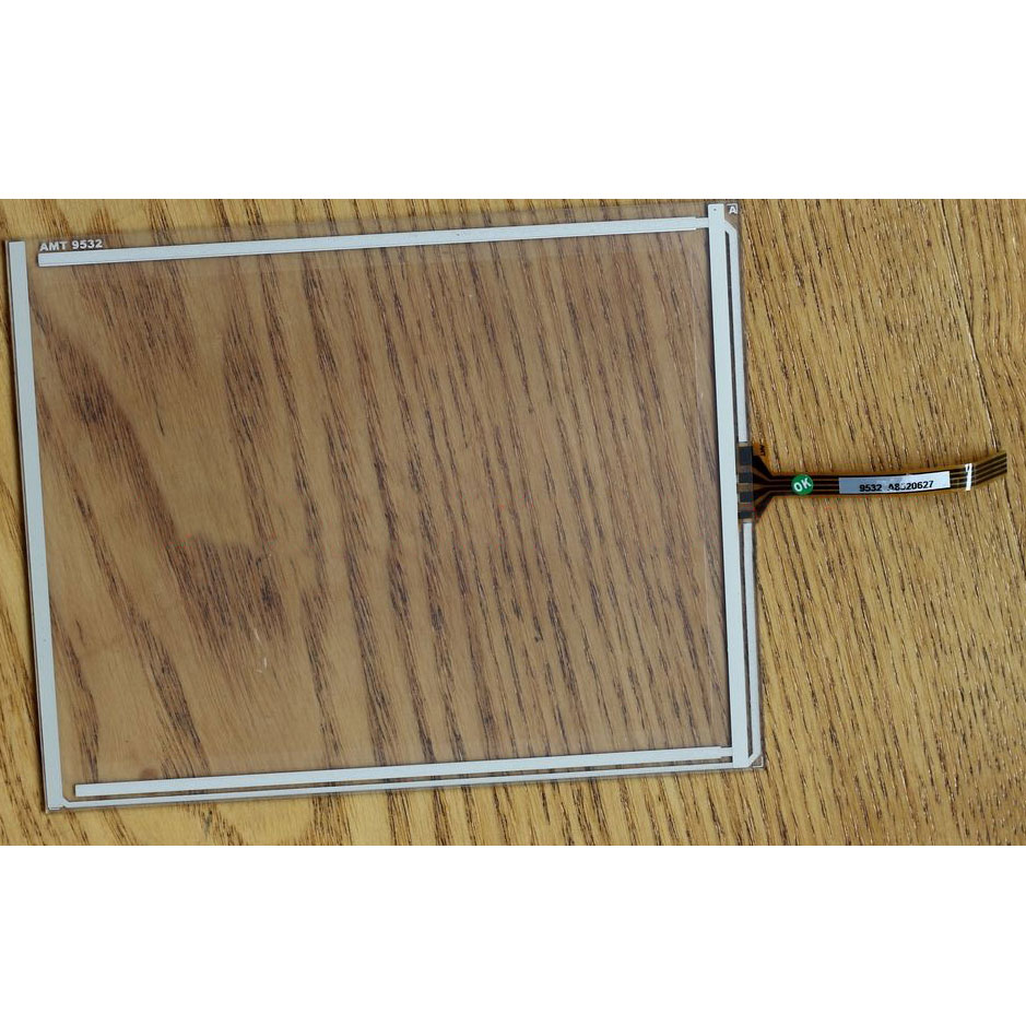 "AMT98531 AMT 98531 5.7"" 4 Wire Resistive Touch screens Glass Panel"