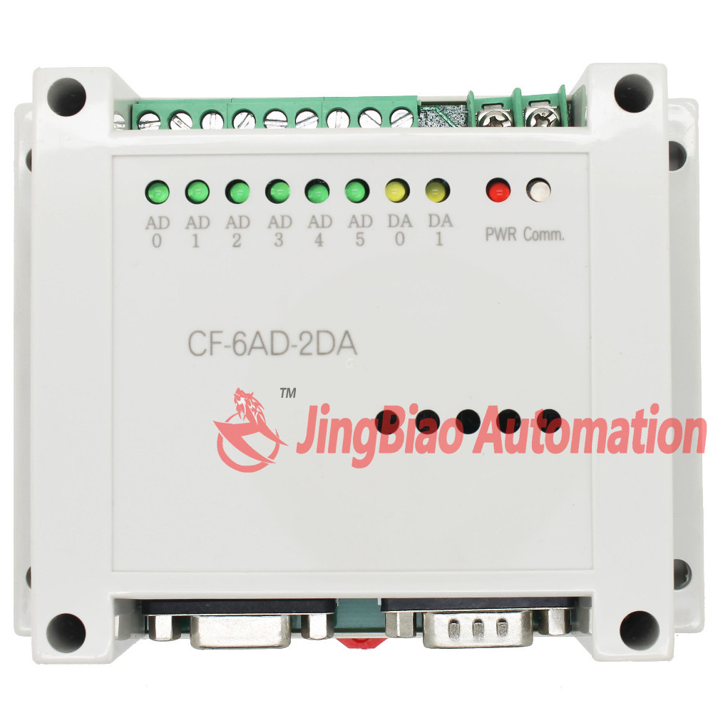CF2N-6AD2DA programmable logic controller for CF2N PLC 6 analog input 2 output
