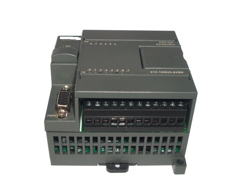 compatible with S7-200 plc,CPU222R-14 relay outputs,8 input/6 output 220VAC