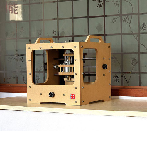 CPC-RC55 Homemade Desktop CNC milling machine used for PCB milling and wood cnc router