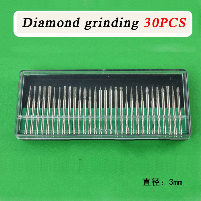 Diamond grinding peeled and polished reaming repair holes can be carved jade glass