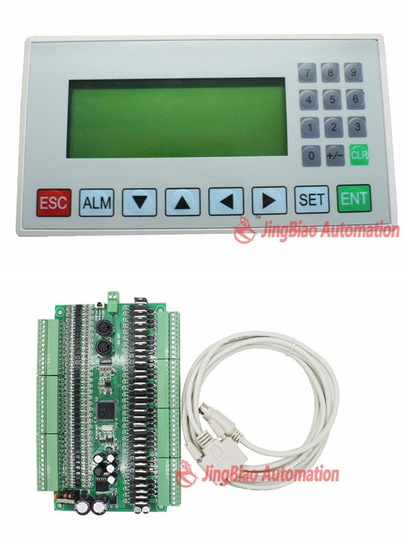 display screen HMI MD204L OP320-A+FX1N plate PLC 64MR or 64MT 32 input 32 output RS485 modbus communication