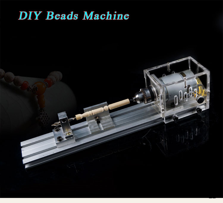 DIY woodworking lathe beads grinding machine, polishing machine beads
