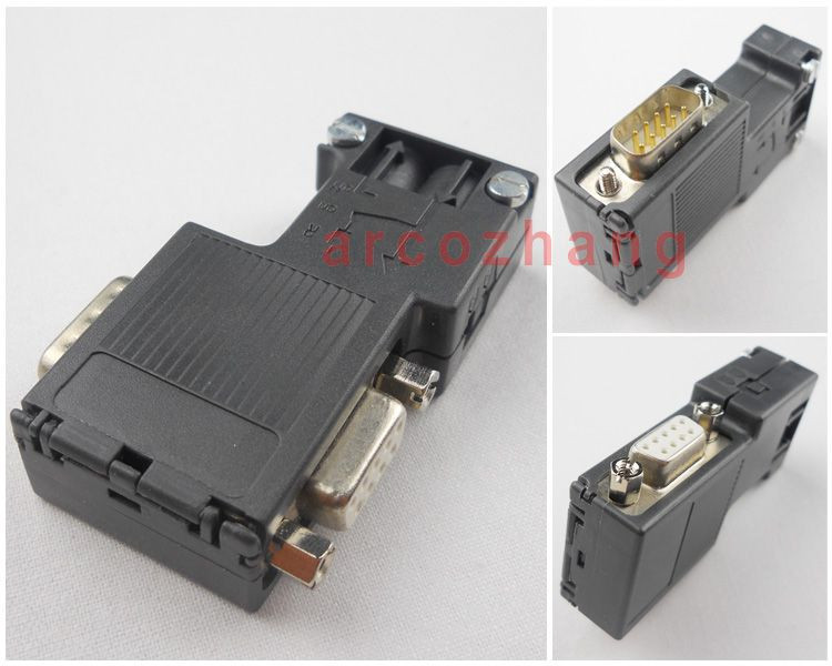 0BB12 PROFIBUS bus connector for 6ES7972-0BB12-0XA0,90 degrees with programming port, DP plug