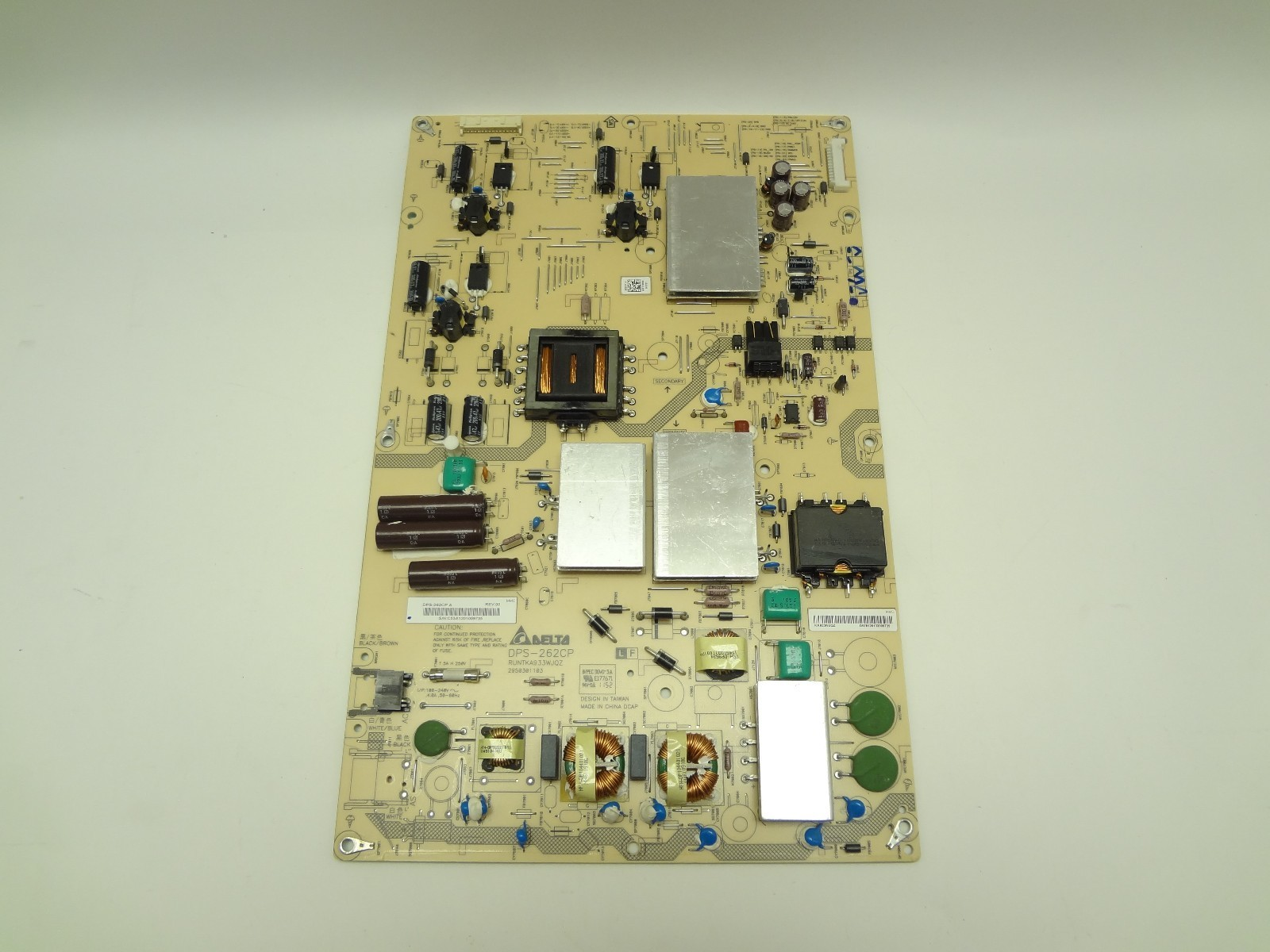 "used Sharp 70"" LC-70LE640U DPS-262CP LCD LED Power Supply Board RUNTKA933WJQZ"